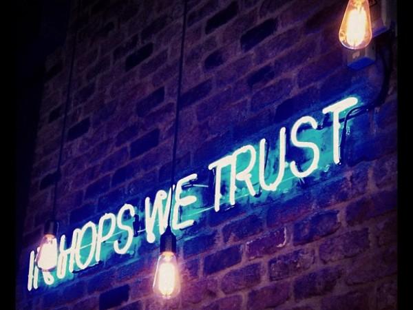 In Hops We Trust, Brewdog Manchester