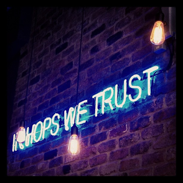 In Hops We Trust, Brewdog Manchester