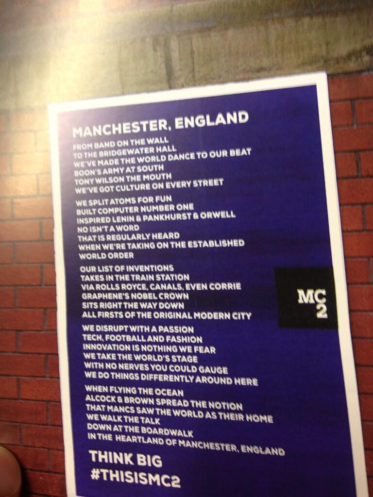 Manchester. Think Big.